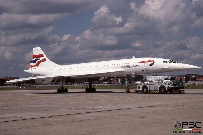 G-BOAA Concorde 102 206 British Airways © 2018 courtesy of Marco Ceschi - Piti Spotter Club Verona