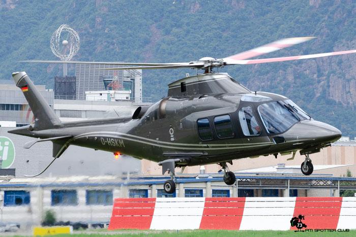 D-HSKM. Agusta A109S Grand. @ Aeroporto di Bolzano © Piti Spotter Club Verona