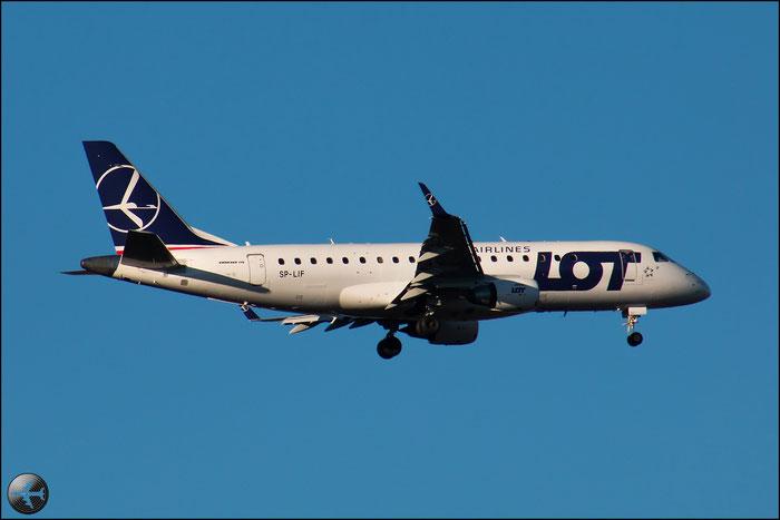 SP-LIF ERJ175LR 17000154 LOT Polish Airlines - Polskie Linie Lotnicze @ Milano Malpensa Airport 31.01.2015 © Piti Spotter Club Verona