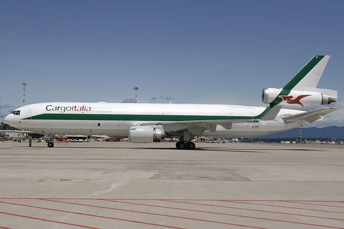EI-UPI MD-11F 48428/474 Cargoitalia @ Milano Malpensa Airport 07.2009 © Piti Spotter Club Verona