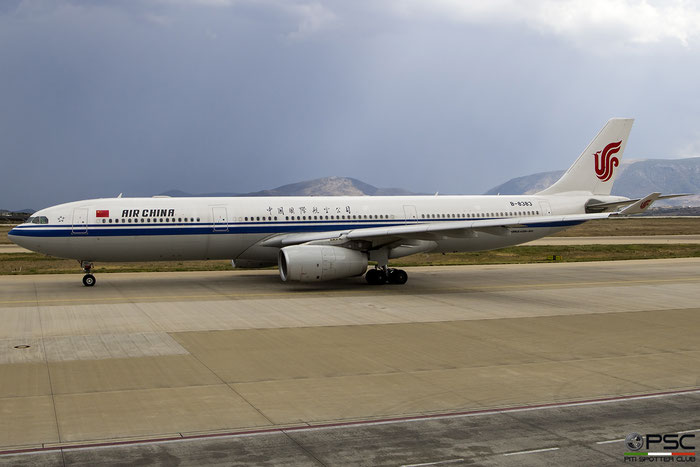 B-8383 A330-343E 1802 Air China @ Athens 08.09.2018 © Piti Spotter Club Verona
