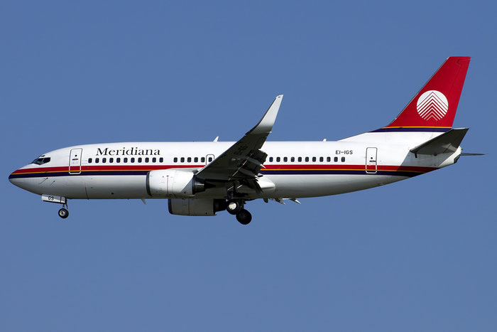 EI-IGS B737-36N 28562/2908 Meridiana @ Venezia Airport 14.08.2014 © Piti Spotter Club Verona