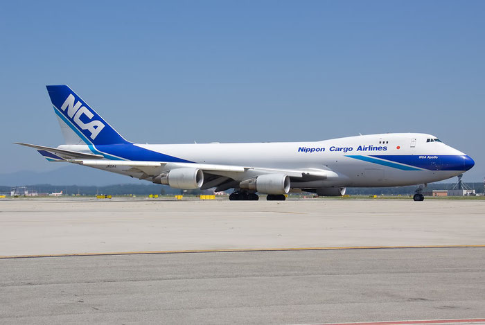JA05KZ B747-4KZF 36132/1394 NCA - Nippon Cargo Airlines @ Milano Malpensa Airport 26.06.2011 © Piti Spotter Club Verona