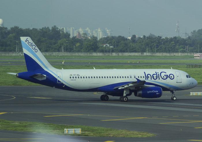 VT-IEL A320-232 4888 IndiGo @ Dehli Airport 07.2015 © Piti Spotter Club Verona
