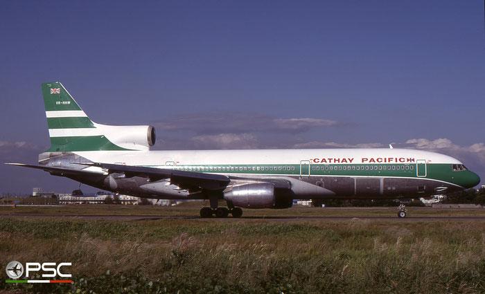 VR-HHW  L-1011-1  193K-1032  Cathay Pacific Airways  © courtesy of Marco Ceschi - Piti Spotter Club Verona