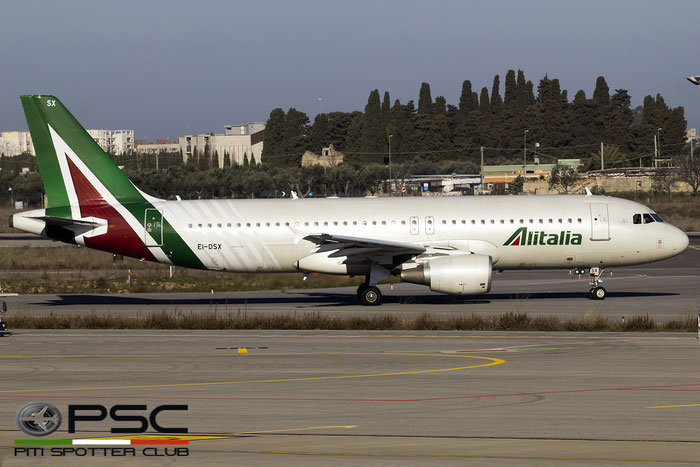 EI-DSX A320-216 3643 Alitalia @ Bari Airport 04.03.2017 © Piti Spotter Club Verona