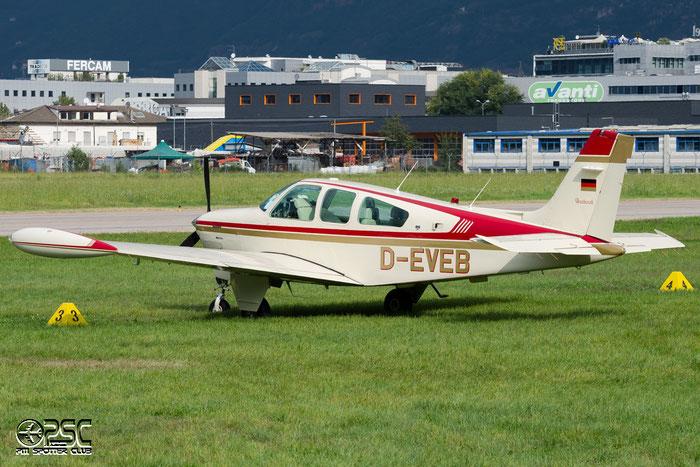 D-EVEB - Private - BE33 Beech Bonanza/Debonair @ Aeroporto di Bolzano © Piti Spotter Club Verona