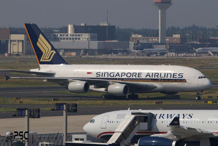 9V-SKP A380-841 76 Singapore Airlines @ Frankfurt Airport 25.07.2014 © Piti Spotter Club Verona