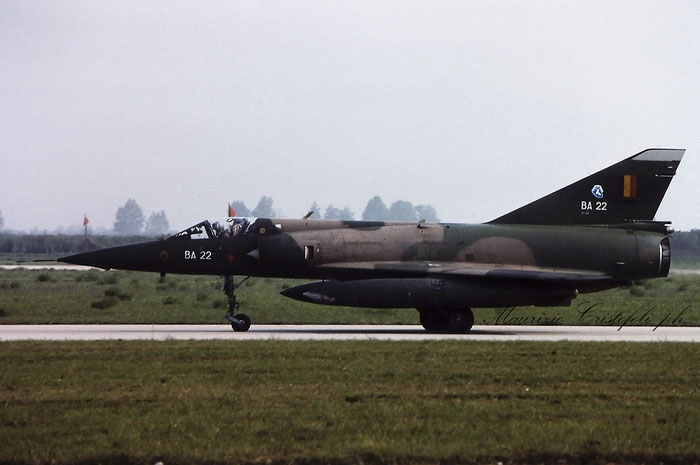 BA22   Mirage 5BA  22  © Piti Spotter Club Verona @ Aeroporto di Verona