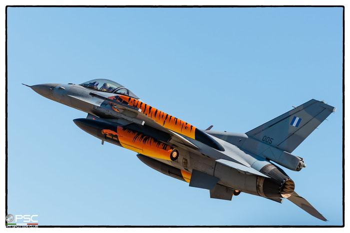 005   F-16C-52+-CF  WJ-5  Lockheed © Piti Spotter Club Verona