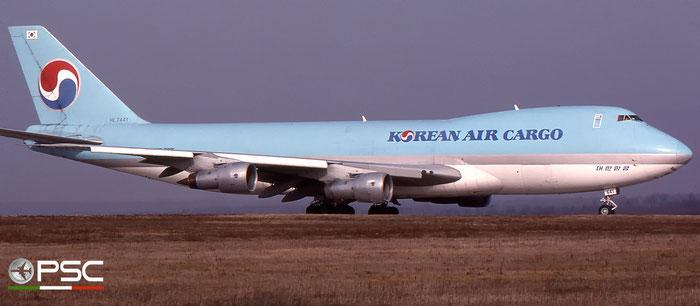 HL7441 B747-230F 20373/168 Korean Air © 2018 courtesy of Marco Ceschi - Piti Spotter Club Verona