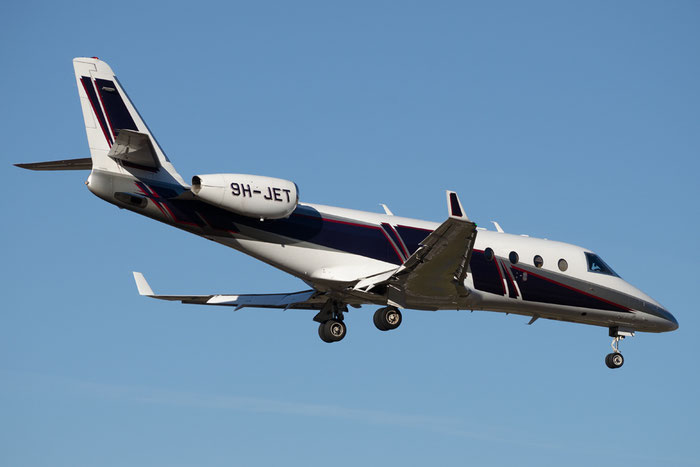 9H-JET G150 283 Europ-Star Ltd. @ Aeroporto di Bolzano © Piti Spotter Club Verona