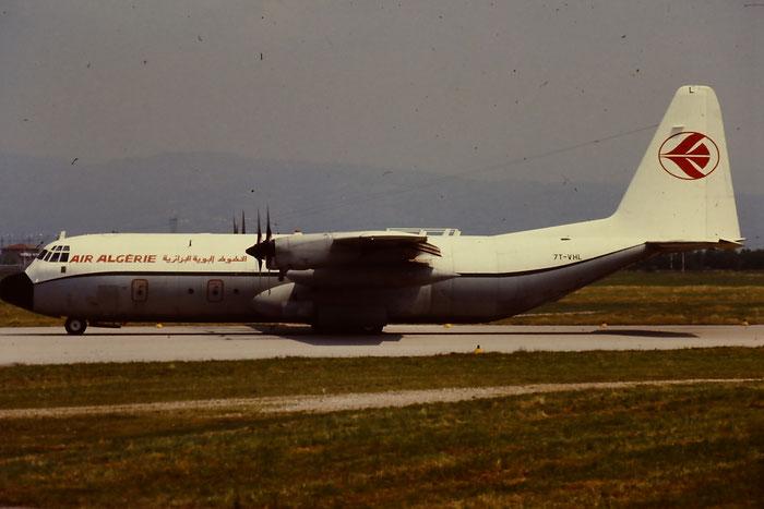 7T-VHL Lockheed L-100-30 Hercules (L-382G)  @ Aeroporto di Verona © Piti Spotter Club Verona