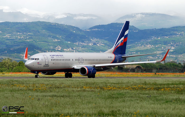 VP-BGG B737-8LJ 41222/5990 Aeroflot @ Aeroporto di Verona 04.2019  © Piti Spotter Club Verona