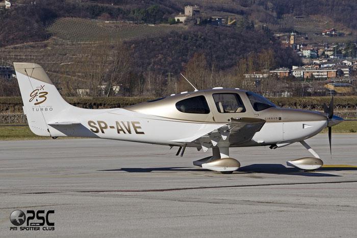 SP-AVE - Cirrus SR22-GTSx G3 Turbo - Private @ Aeroporto di Trento © Piti Spotter Club Verona