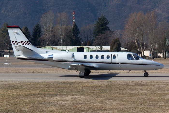 CS-DHR Ce550 Bravo 550-1114 NetJets Europe @ Aeroporto di Bolzano © Piti Spotter Club Verona