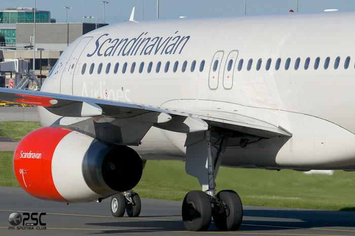 SE-RJE A320-232 1183 SAS Scandinavian Airlines - Scandinavian Airlines System @ Manchester Airport 13.05.2014 © Piti Spotter Club Verona