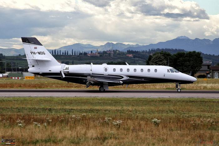 PH-MDG Ce680 680-0564 JetNetherlands @ Aeroporto di Verona 26.07.2017  © Piti Spotter Club Verona