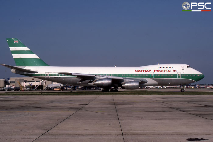 VR-HIE  B747-267B  22872/566  Cathay Pacific Airways  © courtesy of Marco Ceschi - Piti Spotter Club Verona
