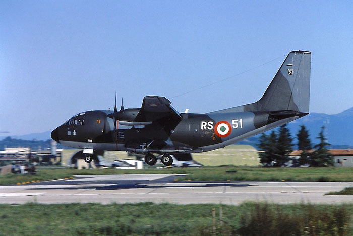 MM62130  RS-51 (46-31)  G222TCM  4037 @ Aeroporto di Verona   © Piti Spotter Club Verona