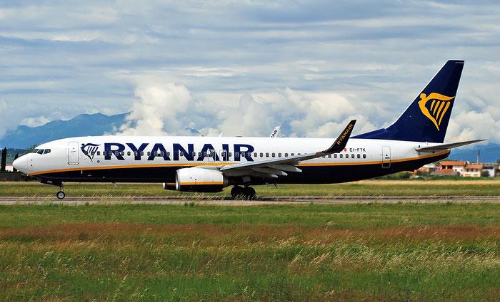 EI-FTK B737-800 44761/6229 Ryanair @ Aeroporto di Verona 14.05.2018  © Piti Spotter Club Verona