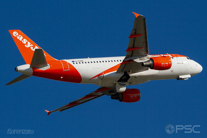 G-EZGE A319-111 4624 easyJet @ Aeroporto di Verona 30.06.2018  © Piti Spotter Club Verona