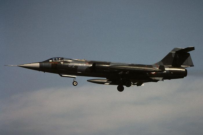 MM6713  4-2  F-104S-ASA  1013 © Piti Spotter Club Verona