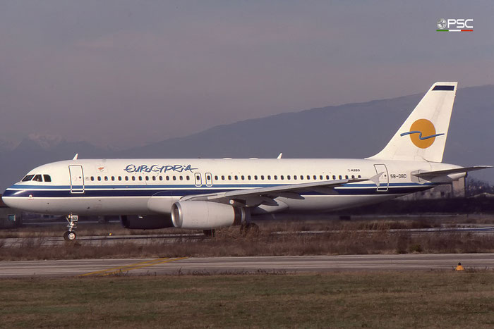 5B-DBD Airbus A-320-231 A320 316 © courtesy of Marco Ceschi - Piti Spotter Club Verona