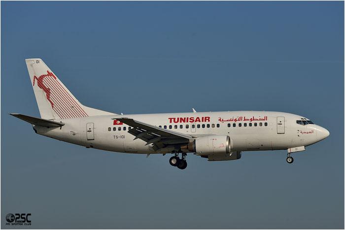 TS-IOI B737-5H3 27257/2583 Tunisair @ Bologna Airport 06.12.2013 © Piti Spotter Club Verona