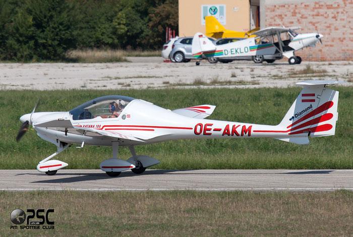 OE-AKM - Diamond DA 20 Katana @ Aeroporto Verona Boscomantico © Piti Spotter Club Verona