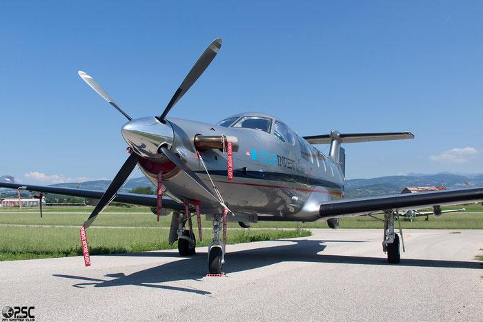 N221XX Pilatus PC-12/47E PC12 1128 @ Aeroporto Verona Boscomantico © Piti Spotter Club Verona