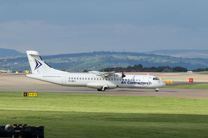 EI-REJ ATR72-201F 126 Air Contractors @ Manchester Airport 13.05.2014 © Piti Spotter Club Verona