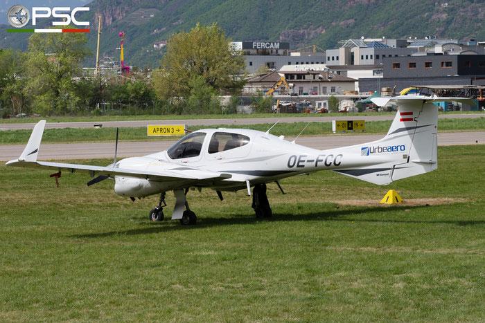 OE-FCC Diamond DA42NG Twin Turbo (c/n 42.N023) @ Aeroporto di Bolzano © Piti Spotter Club Verona