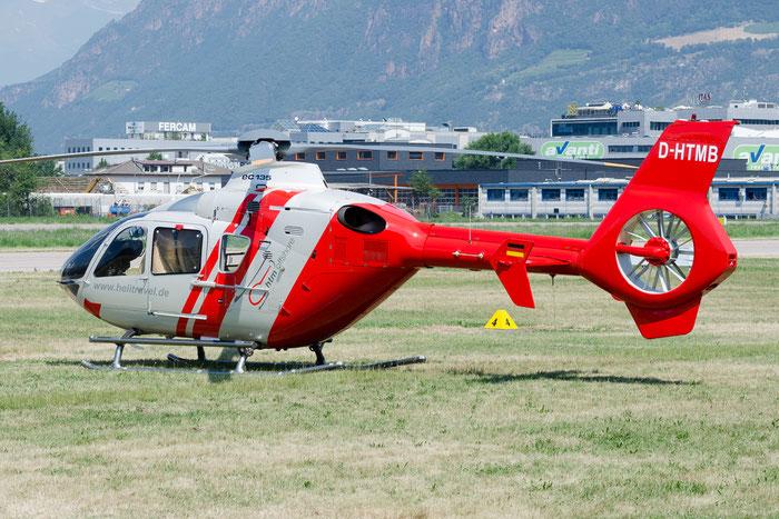 D-HTMB Eurocopter Deutschland EC-135P2 EC35 0060 HTM Helicopter Travel Munich @ Aeroporto di Bolzano © Piti Spotter Club Verona