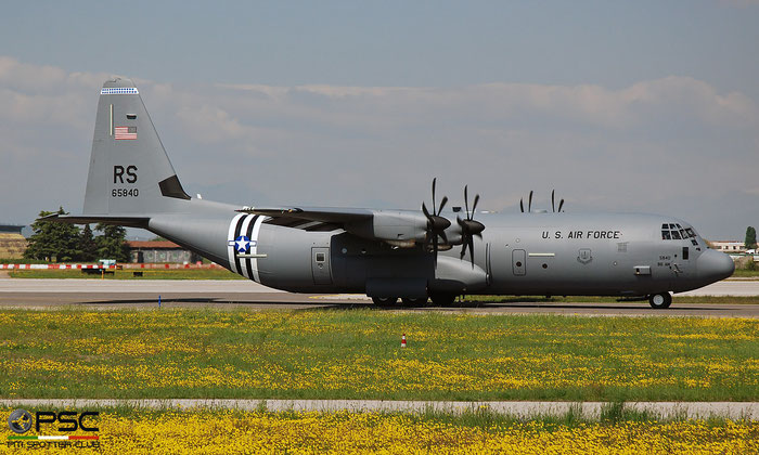 16-5840  RS  C-130J-30  382-5840  37th AS © Piti Spotter Club Verona