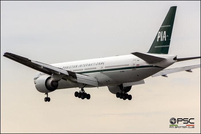 AP-BMG B777-2Q8ER 32716/518 PIA - Pakistan International Airlines @ London Heathrow Airport 2015 © Piti Spotter Club Verona