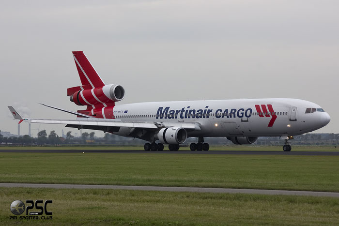 PH-MCS MD-11CF 48618/584 Martinair @ Amsterdam Airport - 20.09.2013  © Piti Spotter Club Verona