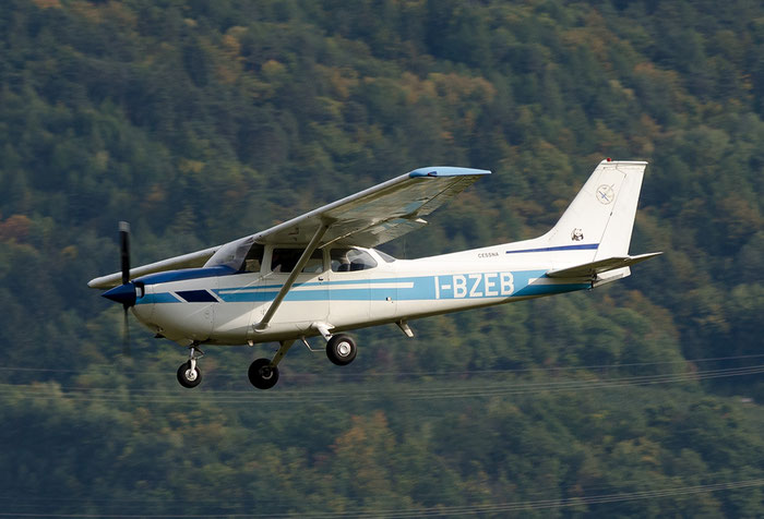 I-BZEB - Reims-Cessna FR172J Reims Rocket - Private @ Aeroporto di Bolzano © Piti Spotter Club Verona