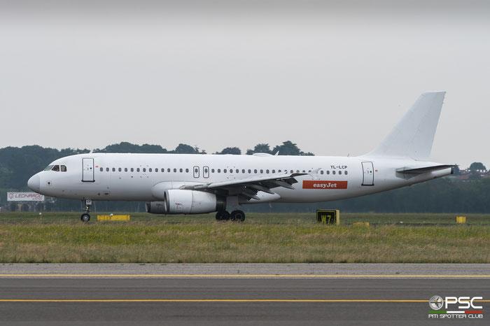 YL-LCP  A320-232  1823  easyJet  @ Milano Malpensa 2018 © Piti Spotter Club Verona