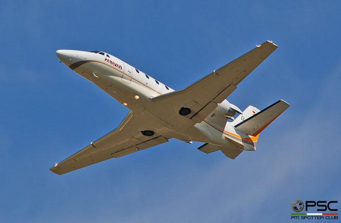 D-CEHM  Ce560XLS+  560-6021  Silver Cloud Air @ Aeroporto di Verona 2021 © Piti Spotter Club Verona
