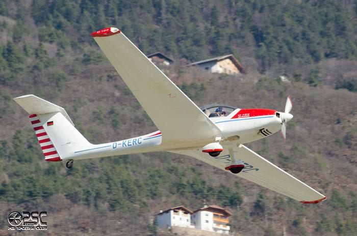 D-KERC Grob G-109 G109 6102 @ Aeroporto di Bolzano © Piti Spotter Club Verona