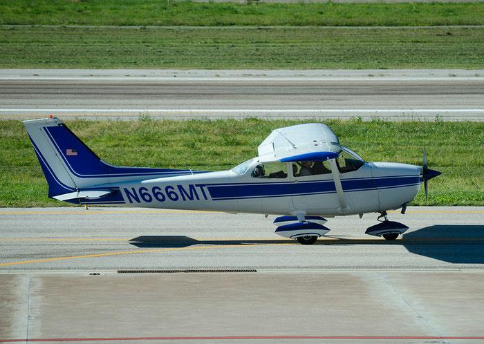 N666MT - Reims-Cessna F172M Skyhawk - Private @ Aeroporto di Bolzano © Piti Spotter Club Verona