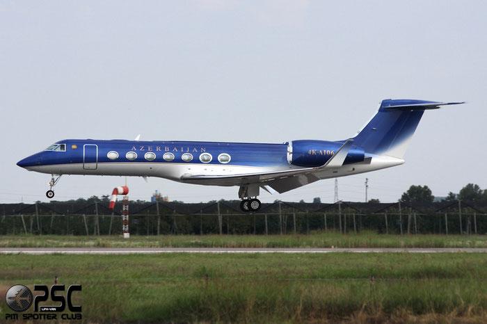 4K-AI06 G550 5277 Government of Azarbaijan @ Aeroporto di Verona © Piti Spotter Club Verona