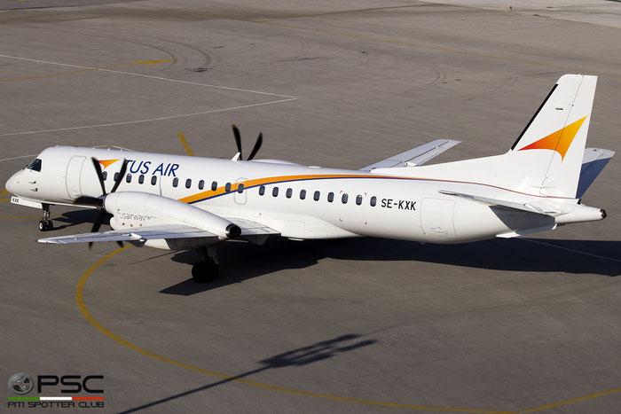 SE-KXK Saab 2000 2000-012 Tus Airways @ Skiathos Airport 07.2017 © Piti Spotter Club Verona