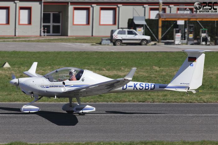 D-KSBD - Diamond HK 36 Super Dimona - Private @ Aeroporto di Trento © Piti Spotter Club Verona