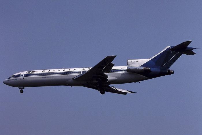 SX-CBG B727-230 20918/1093 Macedonian Airlines Greece @ Aeroporto di Verona © Piti Spotter Club Verona