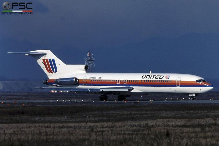 N7638U B727-222 19911/668 United Airlines © 2018 courtesy of Marco Ceschi - Piti Spotter Club Verona