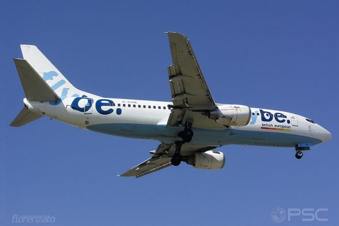 G-STRE B737-36N 28572/3031 Flybe - British European @ Malaga Airport 2006 © Piti Spotter Club Verona