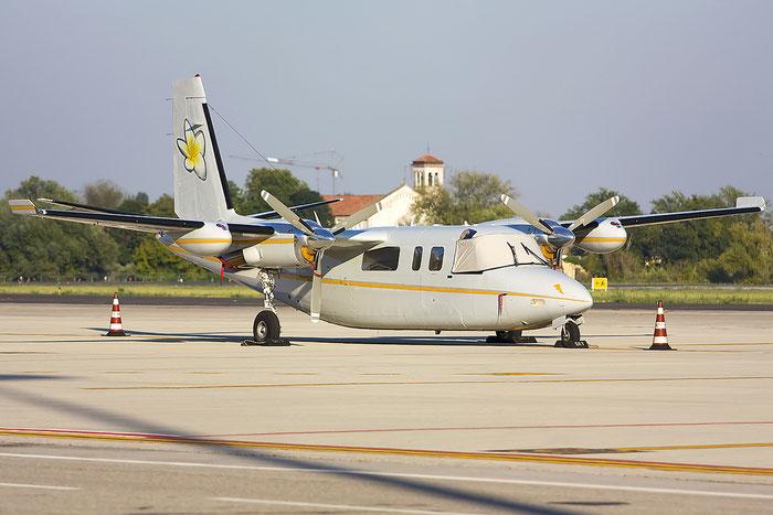 OO-GOA RC690A 11173 Aerodata Aerial Surveys bvba @ Treviso Airport 20.08.2012 © Piti Spotter Club Verona