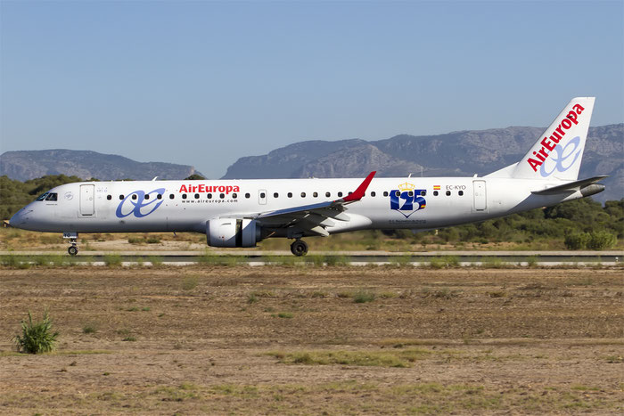 EC-KYO ERJ195LR 19000276 Air Europa @ Palma de Mallorca Airport 07.2014 © Piti Spotter Club Verona
